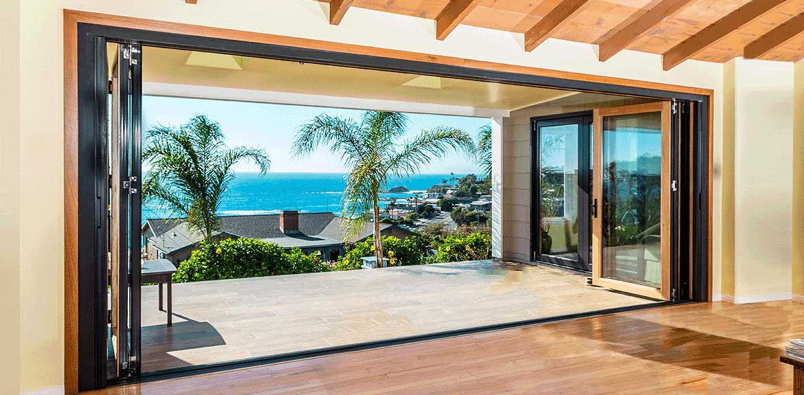 Slide background & Cornerstone Openings - Orange County | Bi-fold Doors Lift and ...